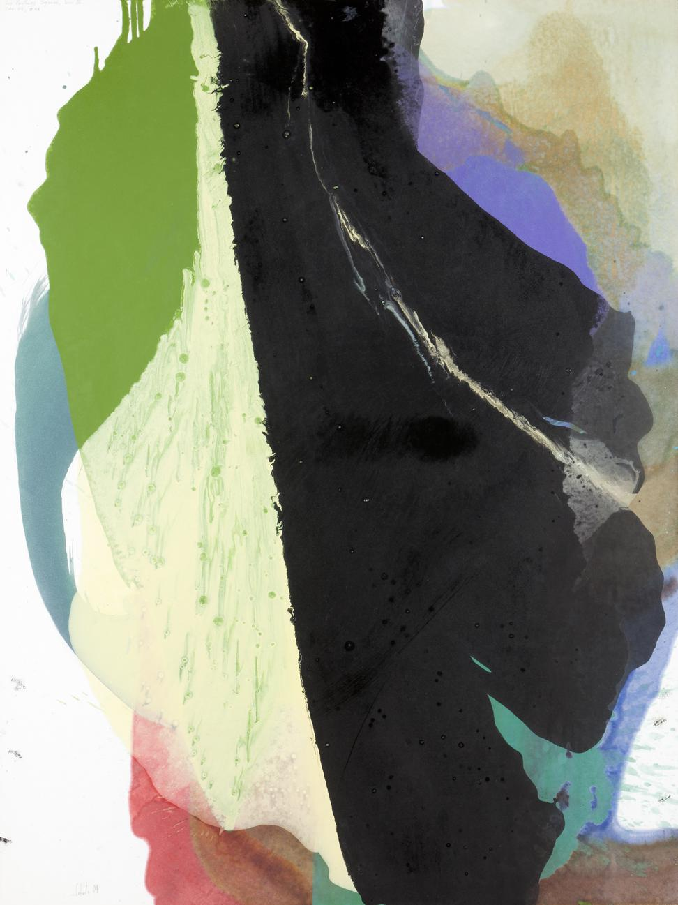 Pedro Cabrita Reis-Les Peintures Joyeuses, Serie III, #13-2004