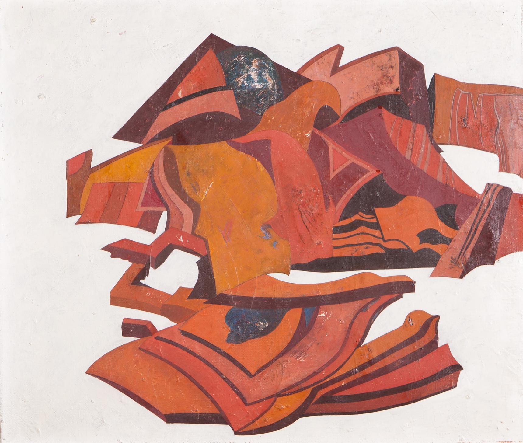 Nikias Skapinakis-Pintura XlVII-1971