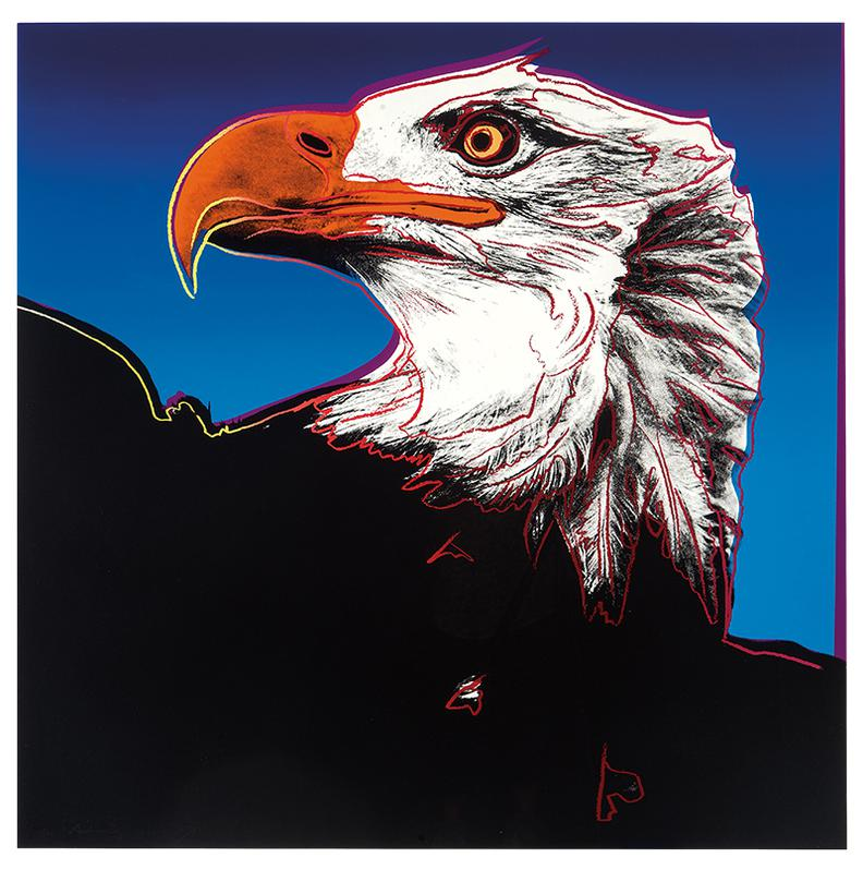 Andy Warhol-Bald Eagle (From Endangered Species Portfolio)-1983