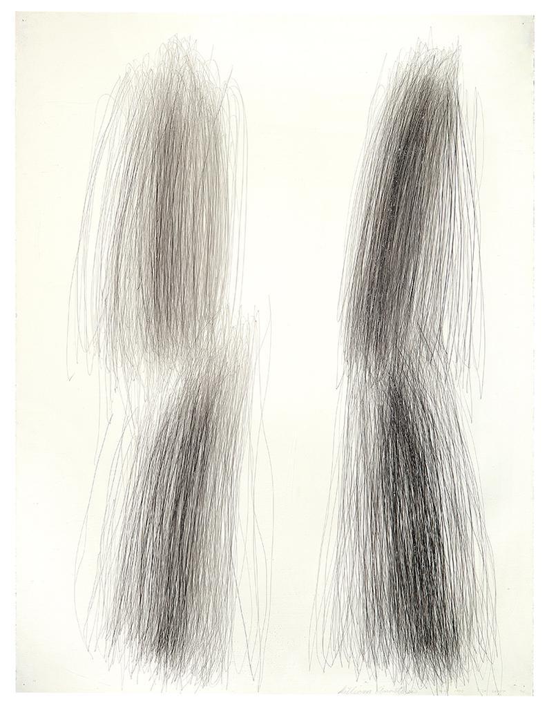William Anastasi-Untitled (12-3-1990 3:20-3:50 Pm)-1990