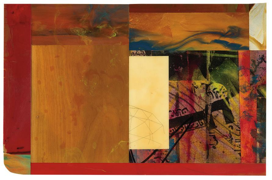Sam Gilliam-Echo IV-1995