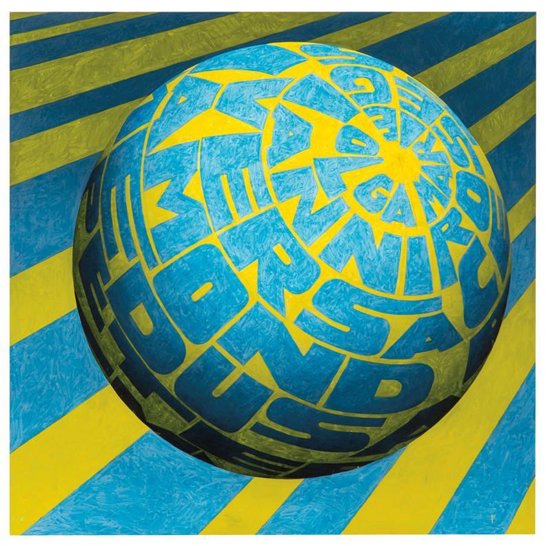 Peter Schuyff-Miami Globes (2)-1999