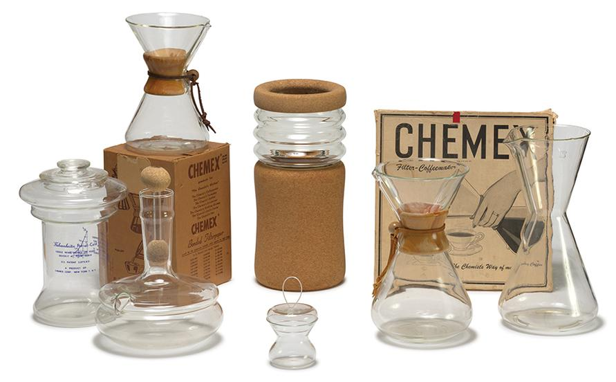 Peter Schlumbohm - Group Of Chemex Objects (7)-1961