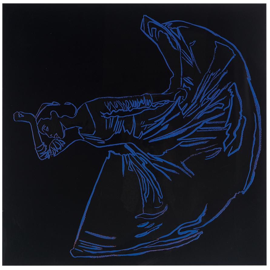 Andy Warhol-Letter To The World (The Kick) (From Martha Graham)-1986