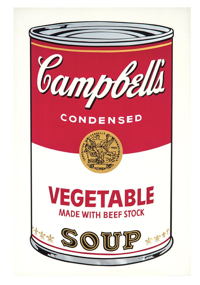 Andy Warhol-Vegetable (From Campbells Soup I)-1968