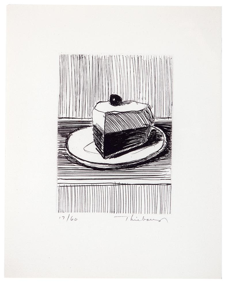 Wayne Thiebaud-Pie Slice-1962