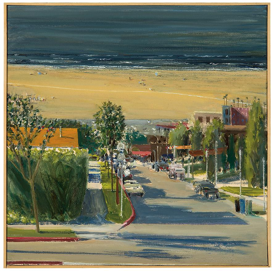 Larry Cohen-View Of Santa Monica Beach-2007