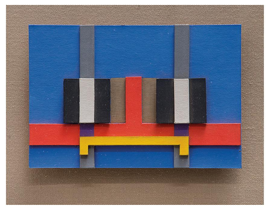 Herbert Bayer-Model For Arco Dallas Mural-1980
