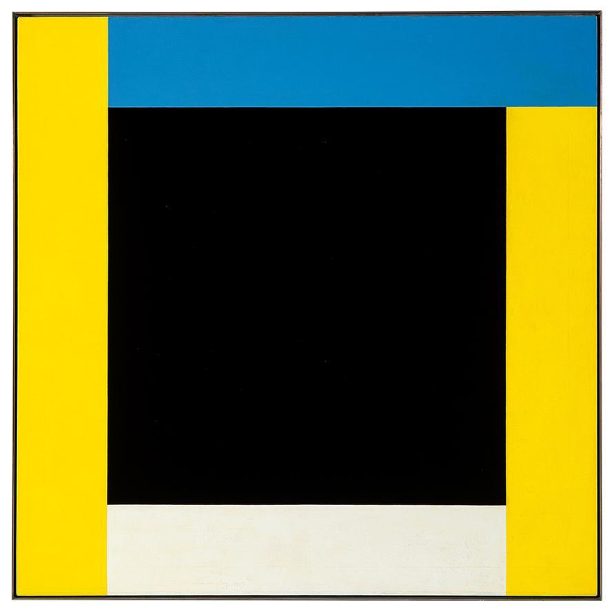 Frederick Hammersley-Black For More-1972