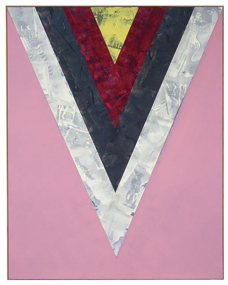 Kenneth Noland-Songs: Yesterdays-1985