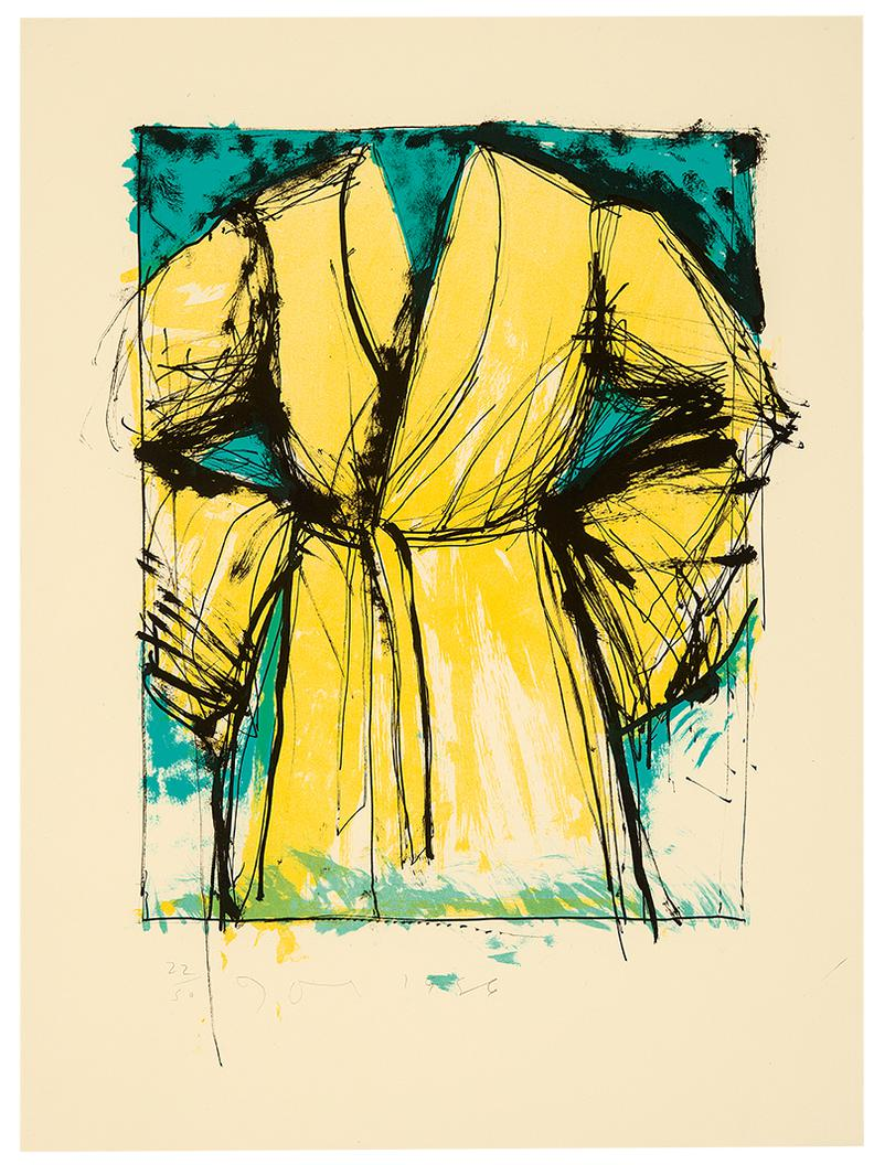 Jim Dine-A Robe Made For The Graphic Arts Council Of The Los Angeles County Museum Of Art-1986