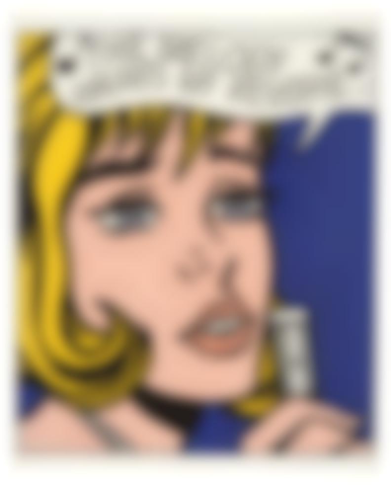 Roy Lichtenstein-Reverie (From 11 Pop Artists Portfolio, Vol. Ii)-1965