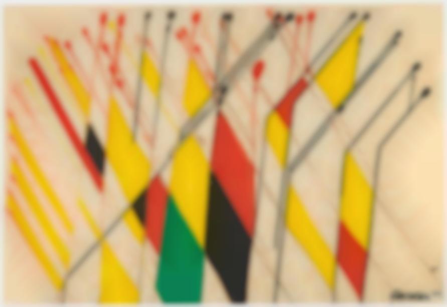 Alexander Calder-Flags-1964