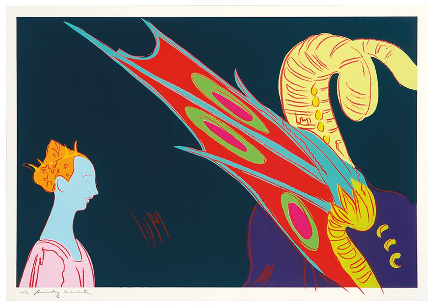 Andy Warhol-Details Of Renaissance Paintings (Paolo Uccello, St. George And The Dragon, 1460)-1984
