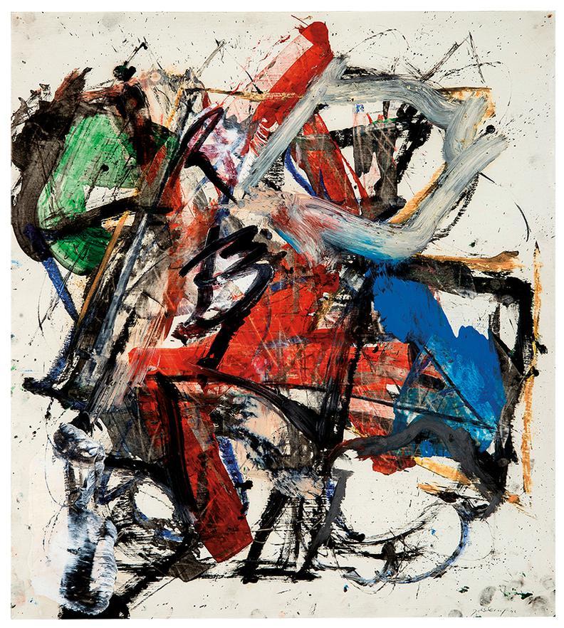 Michael Goldberg-Untitled-1992
