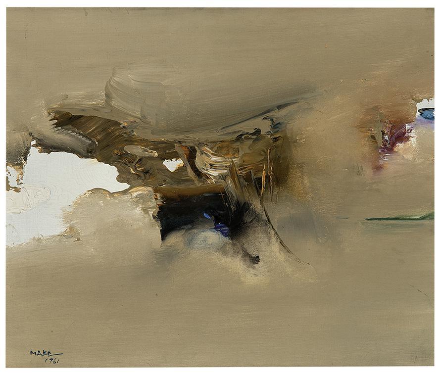 Manabu Mabe-Untitled (No. A-H)-1961