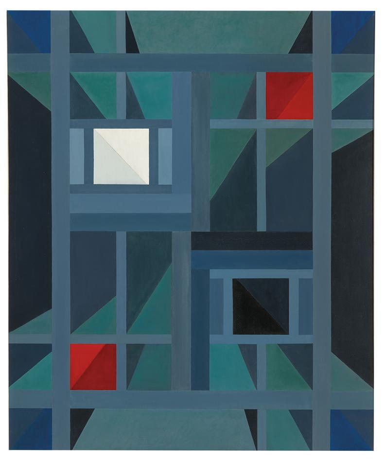 Oskar Fischinger-Perspective I-1961