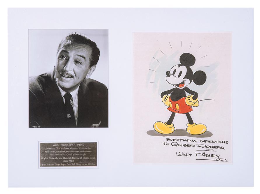 Walt Disney - Mickey Mouse-1939