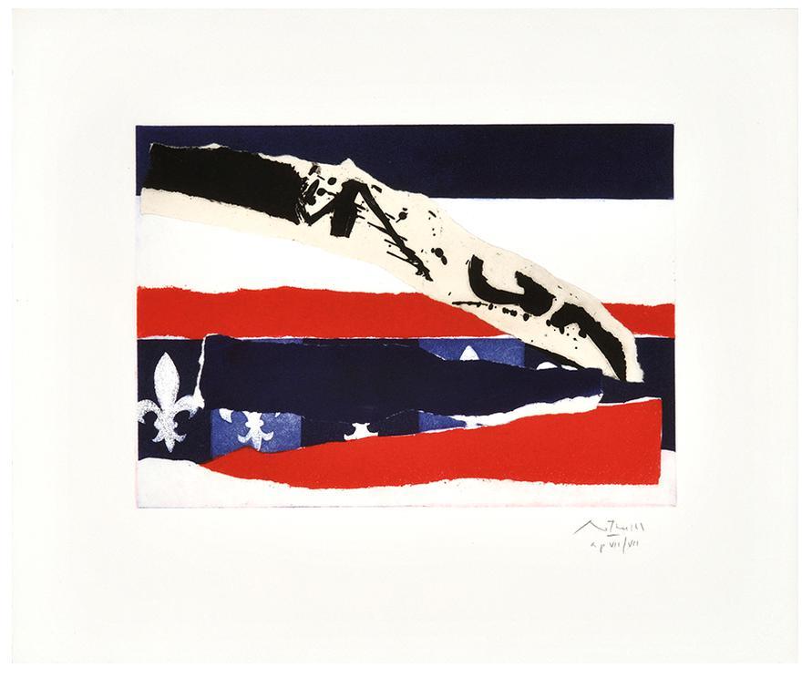 Robert Motherwell-French Revolution Bicentennial Suite Ii-V-1988