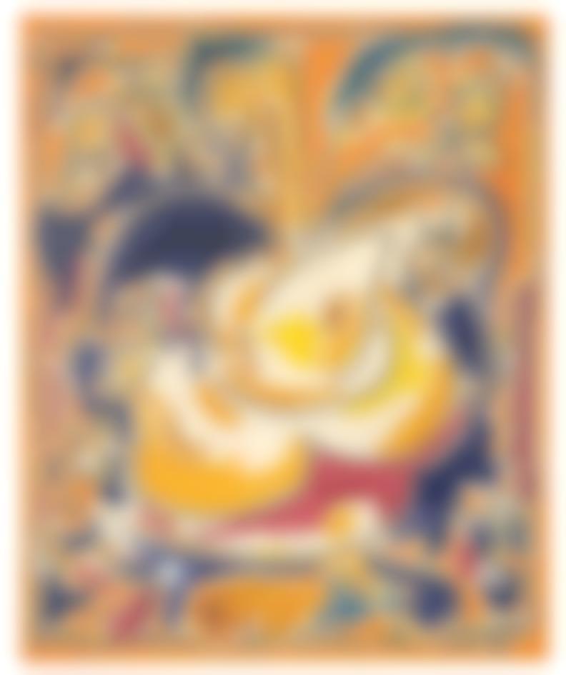 Craig Kauffman-Teapot With Flowers-1952