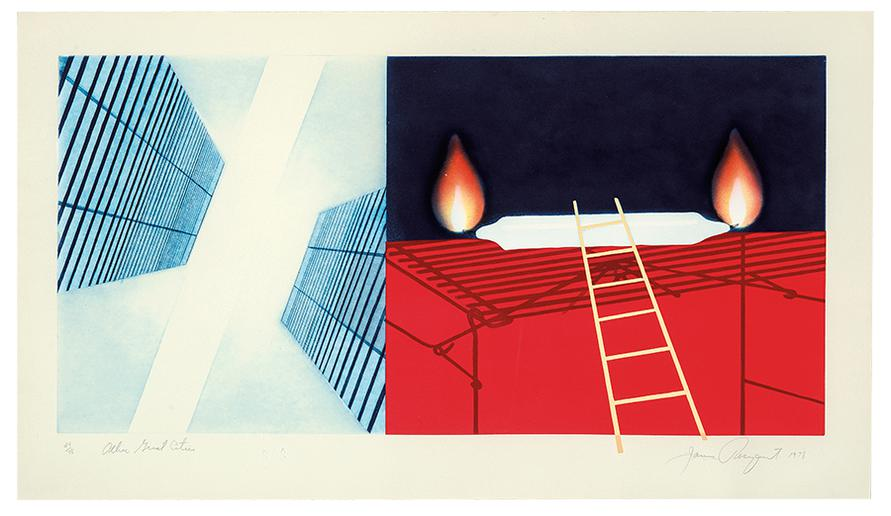 James Rosenquist-Other Great Cities-1978