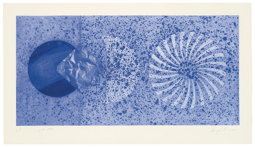 James Rosenquist-The Book Disappears For The Fast Student (2Nd State)-1978