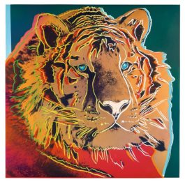 Andy Warhol-Siberian Tiger (From Endangered Species Portfolio)-1983