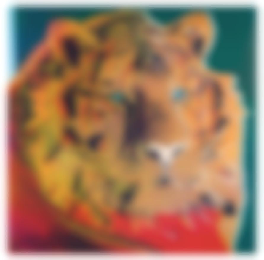 Andy Warhol-Siberian Tiger (From Endangered Species Portfolio)-1983