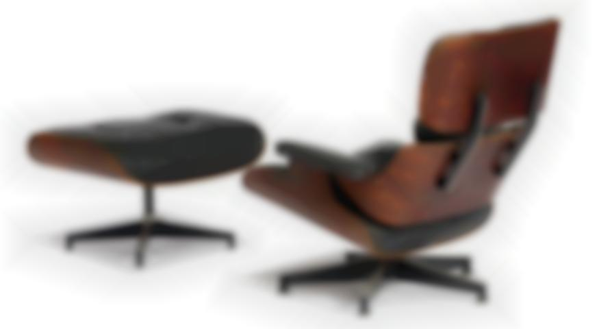 Charles & Ray Eames - Lounge Chair And Ottoman (2)-1956