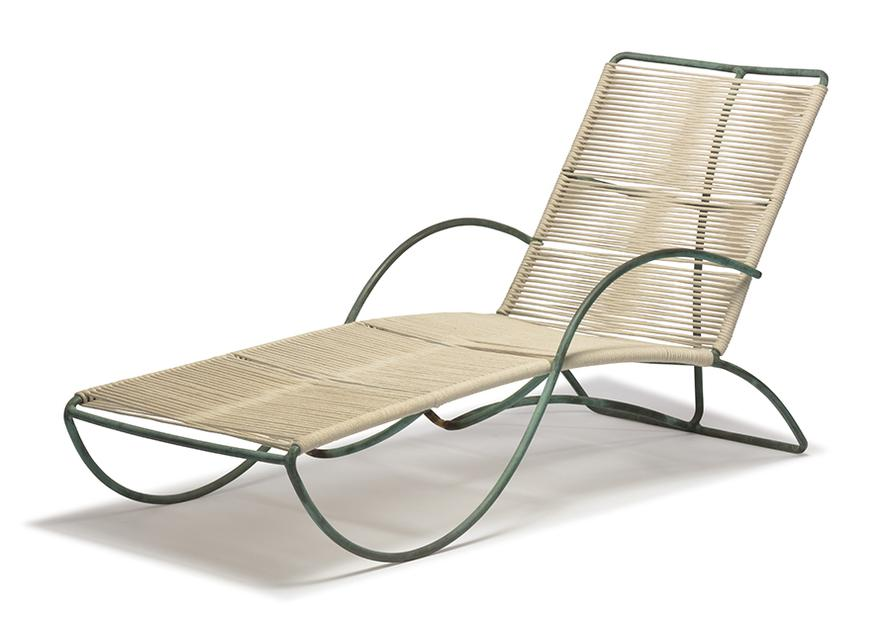 Walter Lamb - Chaise Lounge And Coffee Table (2)-1950