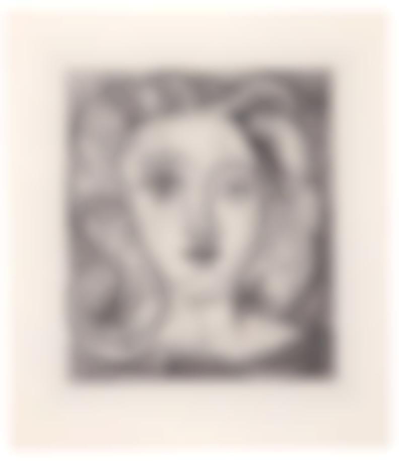 Pablo Picasso-Francesco Petrarca (From Cinq Sonnets)-1947