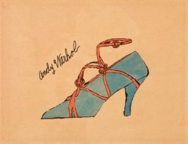 Andy Warhol-Untitled (From A La Recherche Du Shoe Perdu)-1955