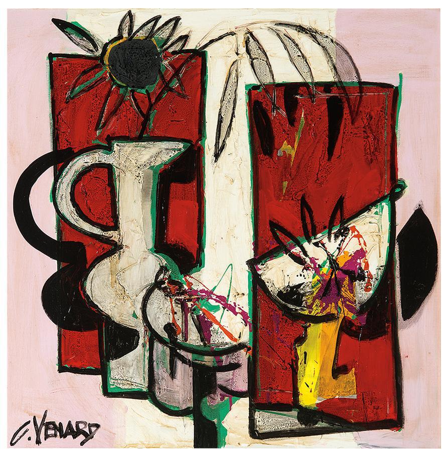 Claude Venard-Untitled (Still Life)-