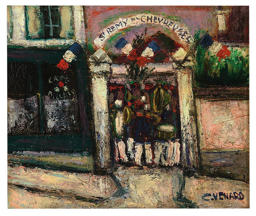 Claude Venard-Untitled (St. Remy-Les-Chevreuse)-