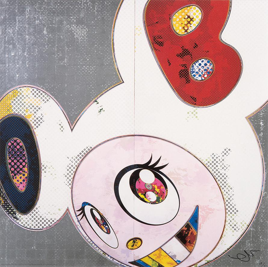 Takashi Murakami-Dob In Pure White Robe (2)-2013