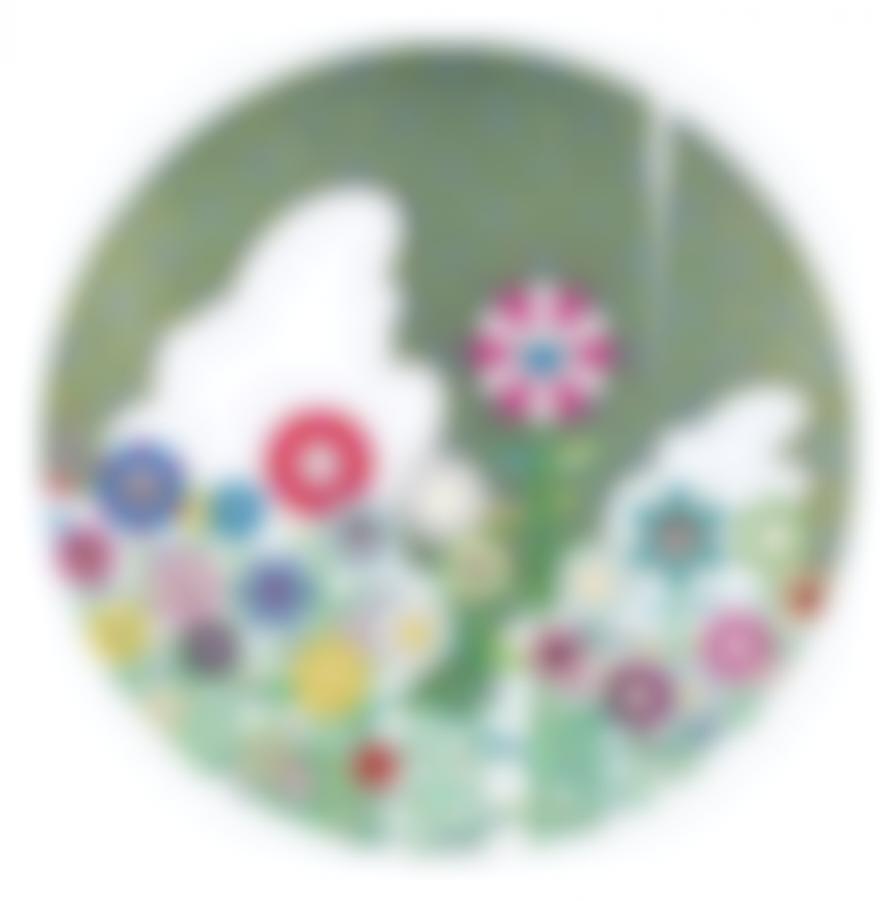 Takashi Murakami-Flower Ball (3D) (3)-2010