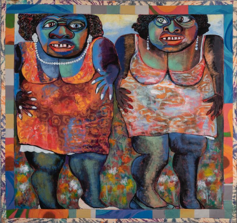 Faith Ringgold-Two Jemimas-1997