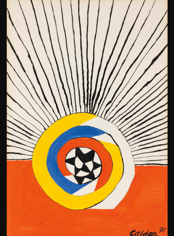 Alexander Calder-Radiating Rhythm-1971