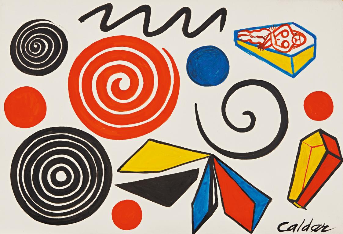 Alexander Calder-La Princesse-1974