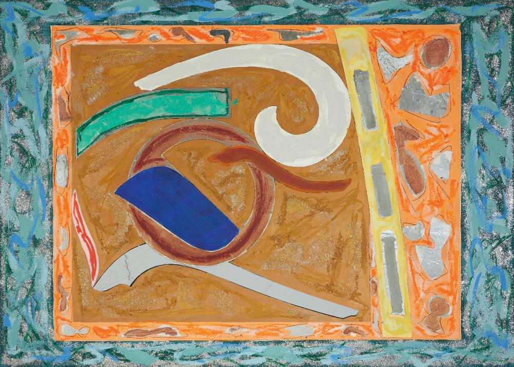 Frank Stella-Kagu-1980
