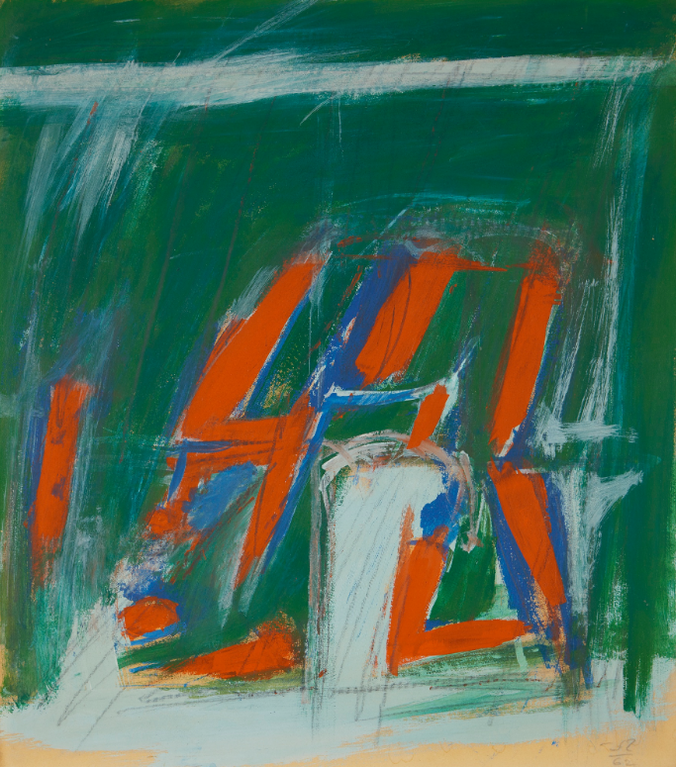 Jack Tworkov-Study For Script-1962