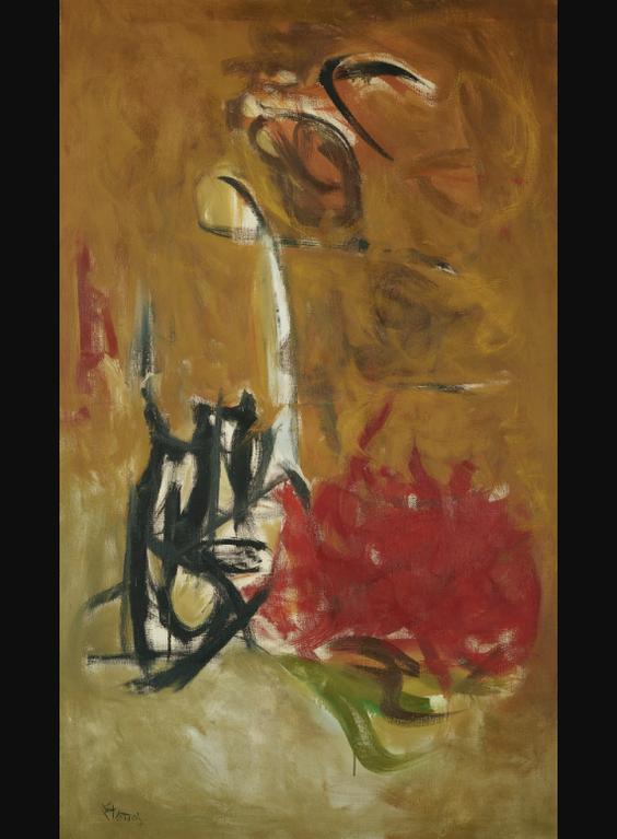 Theodoros Stamos-Sun Path #1-1960