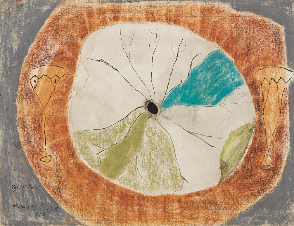 Theodoros Stamos-Eye Of Fear-1946