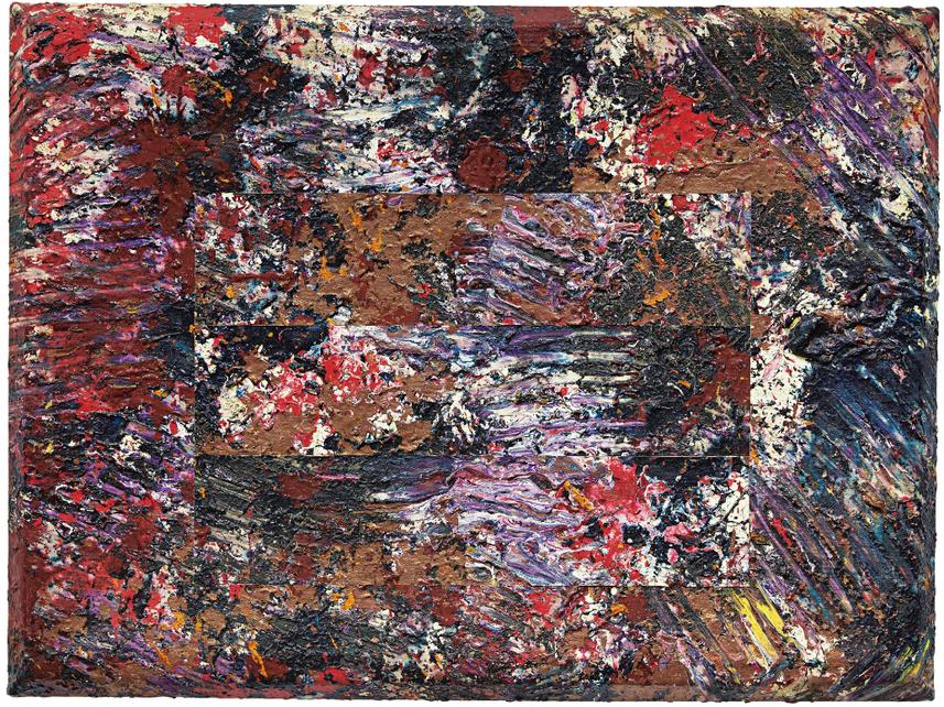 Sam Gilliam-Deep And Red-1979