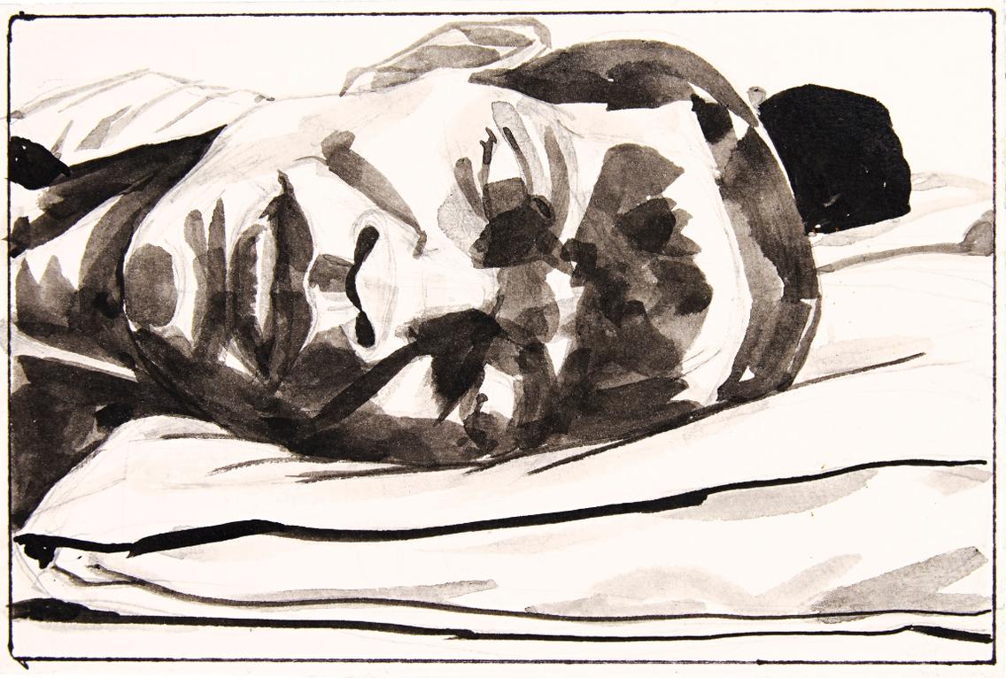 Kerry James Marshall-Untitled (Sleepers)-2015