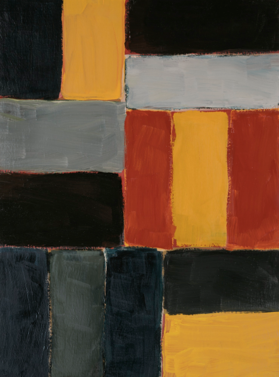 Sean Scully-Small Vertical Red Wall-2005