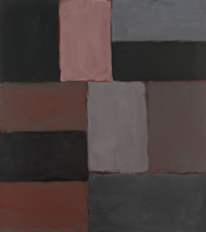 Sean Scully-Wall Of Light Pink Grey Sky-2011