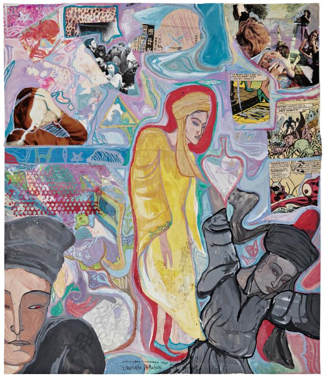 Kai Althoff-Untitled (Tanzende Derwische)-1984