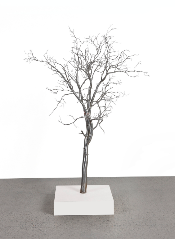 Roxy Paine-Model For Bluff-2001