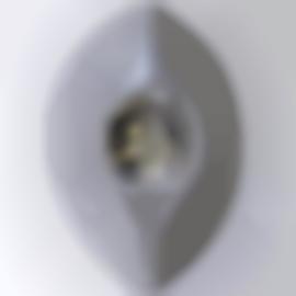 Jason Rhoades-Mecca Vulva (Sculpture To Illuminate Corner Of Wall) With Tuna Stone-2003